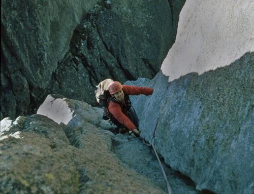 Geschichten aus dem letzten Jahrtausend. Klettern am Salbitschijen 1996