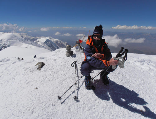 Peak Lenin 7134 m, Kirgistan – August 2015