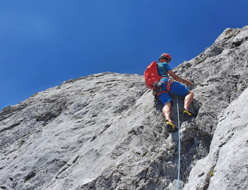Luftig und Steil – Torsäule, 2.588 m